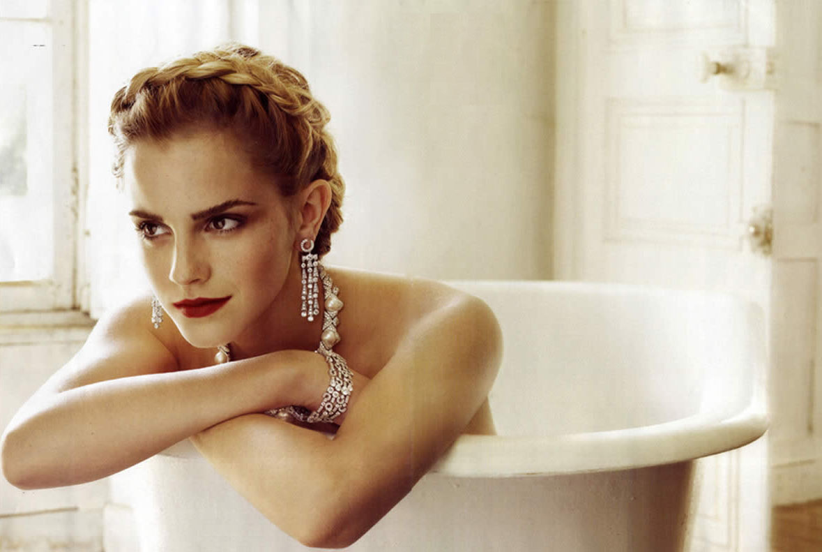 From the top: Emma Watson,