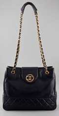 WGACA Vintage Vintage Chanel Leather Bag